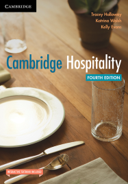 CAMBRIDGE HOSPITALITY TEXTBOOK + EBOOK 4E
