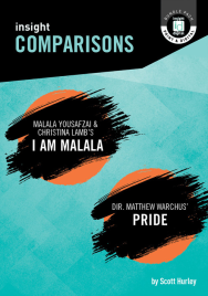INSIGHT COMPARISONS: I AM MALALA & PRIDE + EBOOK BUNDLE
