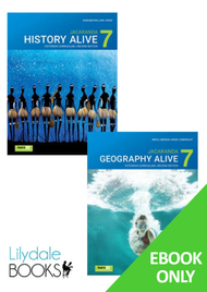 JACARANDA GEOGRAPHY ALIVE 7 + HISTORY ALIVE 7 VICTORIAN CURRICULUM 2E LEARNON EBOOK VALUE PACK