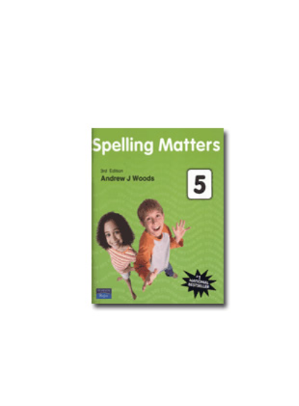 SPELLING MATTERS BOOK 5